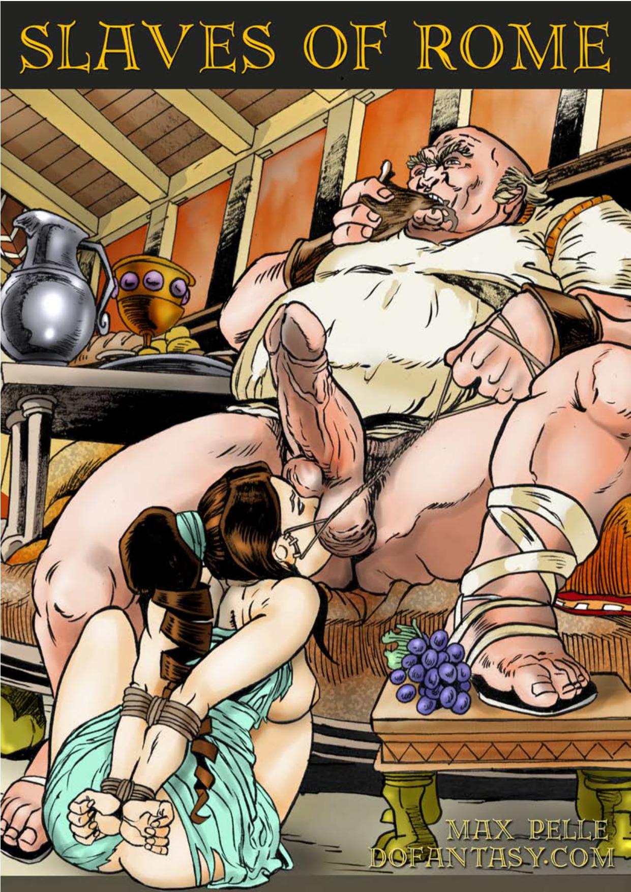 Ancient roman hardcore porn comic